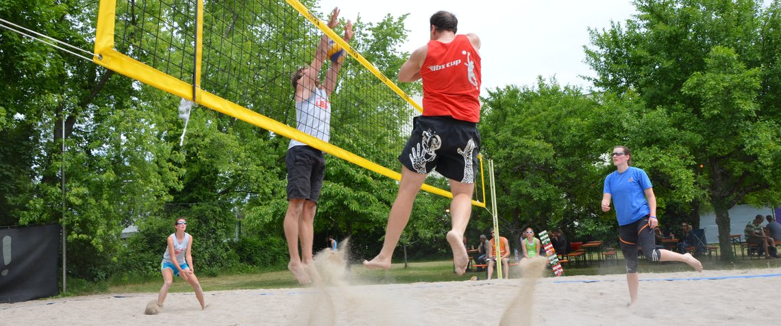 Beachvolleyball Hoepfner Burgfest
