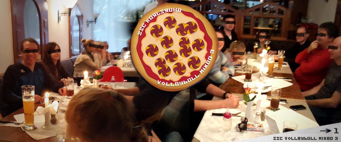 Mixed 3 verdient sich Pizza & 2 Punkte