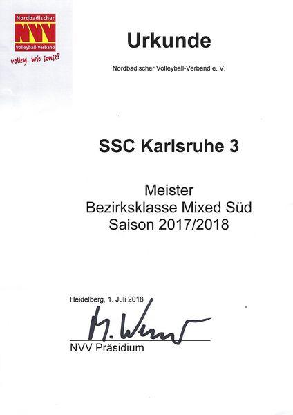 Meisterurkunde 2018 BKMS