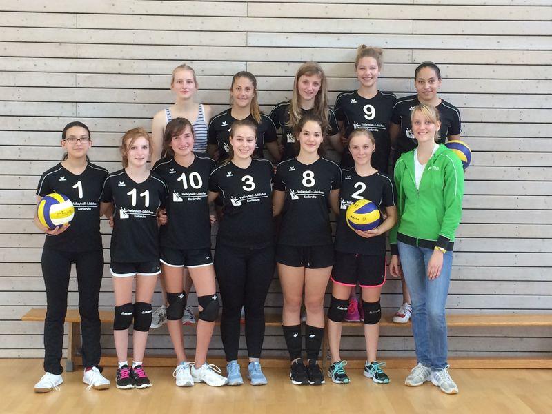 Mannschaftsfoto U18w