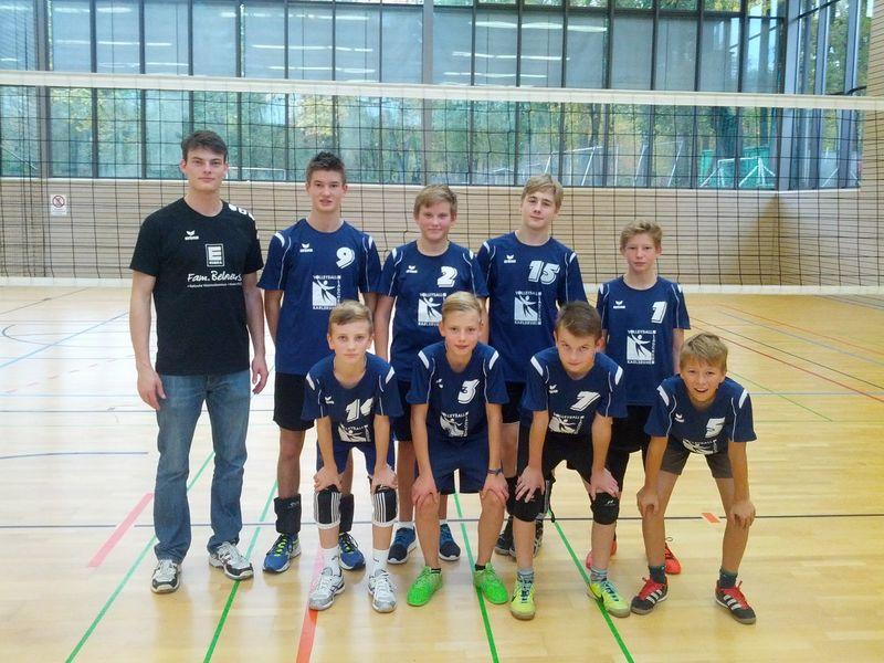 Unsere männliche U16 Mannschaft