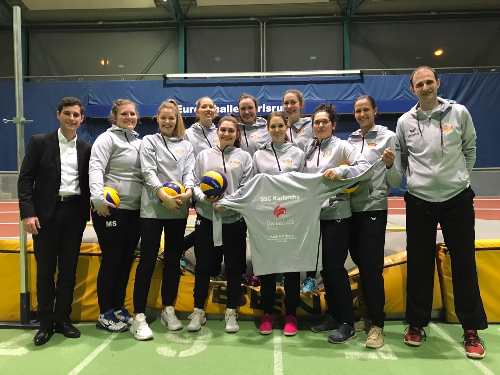Mannschaftsfoto mit Swisslife