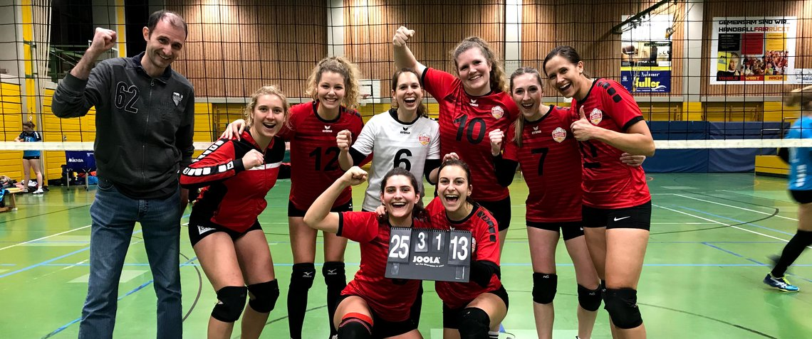 Mannschaftsfoto Sieg gegen Ettlingen